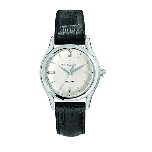 TRUSSARDI Reloj Analógico para Hombre de Cuarzo con Correa en Cuero R2451127004