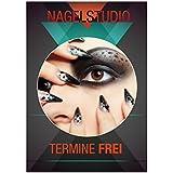 "DIN-A1 Nagelstudio ""Nail Art"" Plakat Poster Kundenstopper Kosmetik Beauty"