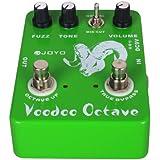 Joyo Ultime Octave JF-12 Pédale d'effet FX pour Guitare acoustique Vert