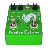 Joyo Ultime Octave JF-12 Pédale d\'effet FX pour Guitare acoustique Vert
