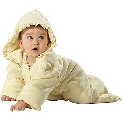 i-baby - Bolsa para dormir para bebé, saco de manejo termal del crecimiento que dura más. Aplique, Amarillo/Verde
