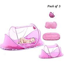mirokor bebé cama de viaje niños tienda mosquitera plegable portátil para cama de bebé cuna juego cama bebé cunas para 0–18meses bebé