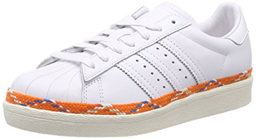 new concept cec24 04f75 adidas Superstar 80s New Bold W, Chaussures de Gymnastique Femme, Blanc FTWR  Off White