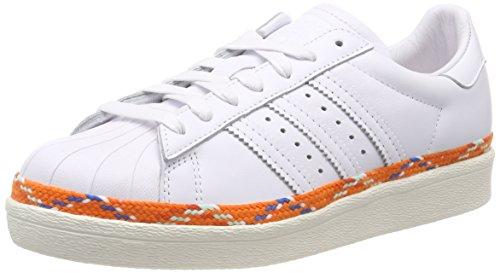 new style 25979 7ca8b adidas Superstar 80s New Bold W, Chaussures de Gymnastique Femme, Blanc  FTWR Off White