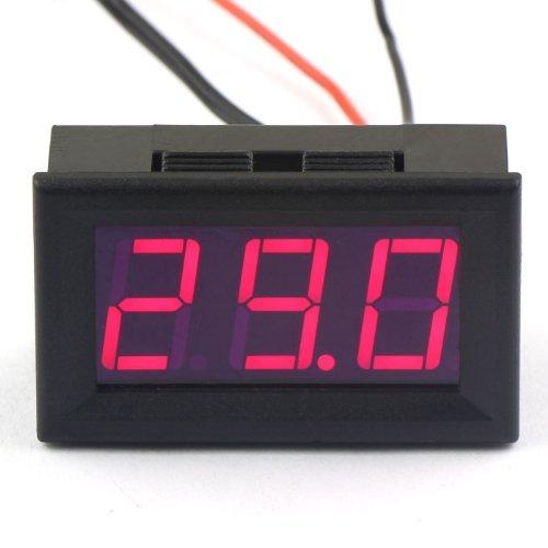 Indicador temperatura termómetro digital DC 12V -50~110