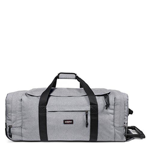 Eastpak Leatherface L Sac de voyage à roulettes, 87 cm, 98 L, Gris (Sunday Grey)