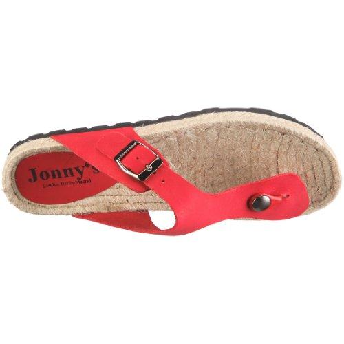 Jonny's Eva 0009, Sandali donna Rosso