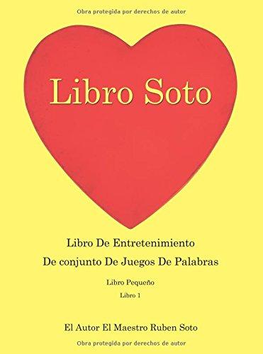 Libro Soto: Libro De Entretenimiento De Conjunto De Juegos De Palabras
