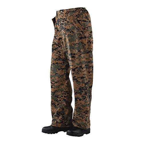 Tru-Spec 2031 H2O Proof ECWCS Trousers, Woodland Digital Camo -