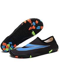 3e0a99f4488b0 Zapatos De Agua Mujer Hombre Escarpines para Surf Piscina Playa Arena Rocas  Mar Río Piscina Deporte