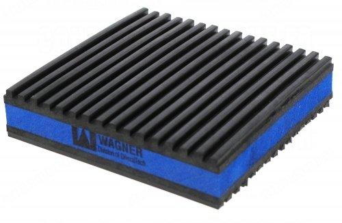 plaque anti-vibratoire 100 x 100 mm