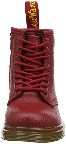 Dr. Martens Unisex-Kinder Brooklee Pbl Kurzschaft Stiefel Rot (Dark Red Pebble Lamper) dhDUgGBa