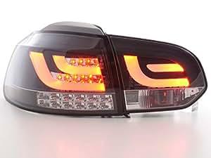 Led Rückleuchten VW Golf 6 Typ 1K schwarz mit Led Blinker