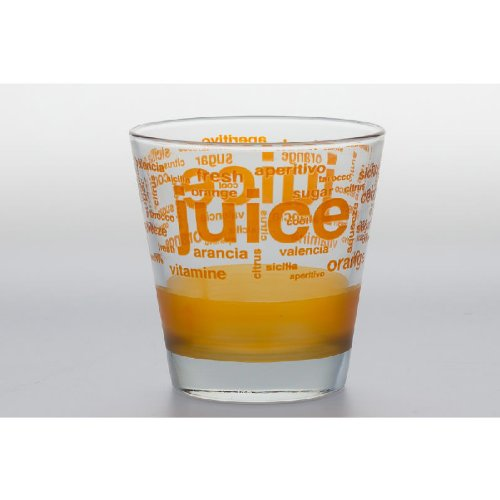 VERRE GOBELET FORME BASSE ORANGE JUICE 25CL (Lot de 6)