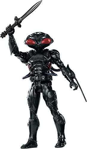 Black Manta Kostüm - Mattel FWX62 DC Aquaman Black Manta 15 cm Figur, Spielzeug Actionfiguren ab 4 Jahren