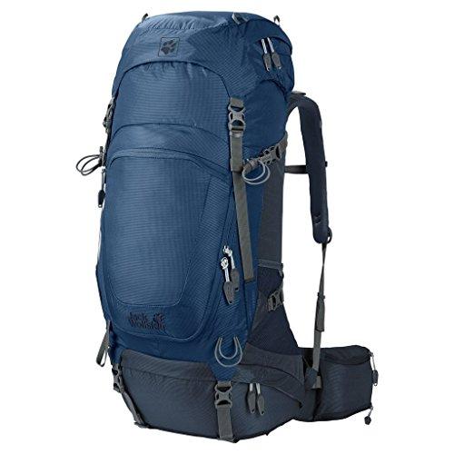 Jack Wolfskin Highland Trail 48 Trekking Backpack, Ocean Wave, 74 x 33 x 34 cm