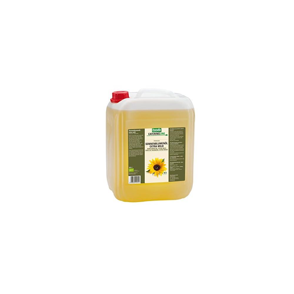 Byodo Sonnenblumenl Desodoriert Extra Mild 1er Pack 1 X 10 L Dose Bio