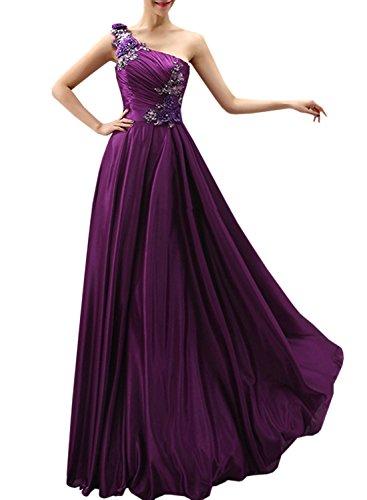 Azbro -  Vestito  - Scollato  - Senza maniche  - Donna Purple