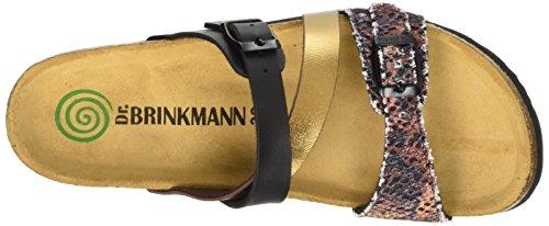 Dr. Brinkmann 700916, Mules Femme Marron - Braun (kupfer/multi)