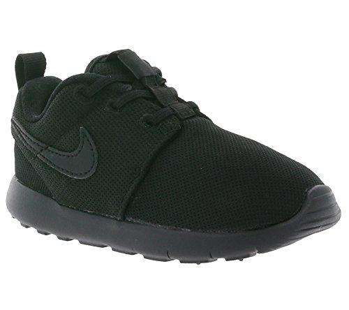 Nike Unisex Baby Roshe One (Tdv) Sneaker, Schwarz, 21 EU (Nike Schuhe Für Baby-mädchen-größe 4)