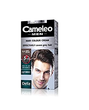 Cameleo Men Hair Color Cream Permanent Effectively covers grey ...