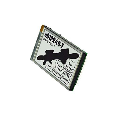 EAEDIP240J-7LWT Display LCD graphical FSTN Positive 240x128 black LED Fstn-display