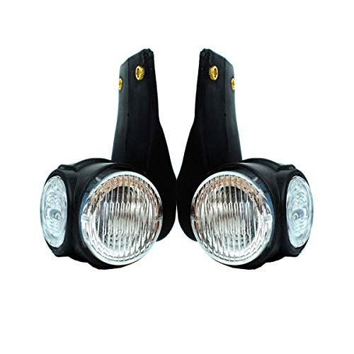 2x 12V / 24V LED Begrenzungsleuchten Umrißleuchte Positionsleuchten LKW PKW Anhänger (Led-anhänger Positionsleuchten)