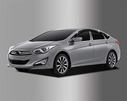 Autoclover Windabweiser-Set für Hyundai i40 4-Türer Limousine, 6-teilig