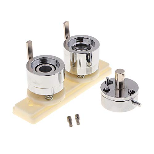 perfk 25 mm Runde Abzeichen Pin Form für Buttonmaschine Anstecker Button Maker Punch Press Maschine (Abzeichen Button Maker Maschine)