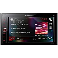 Pioneer MVH- AV290BT | 2DIN Autoradio – 6,2 Zoll Clear Resistive-Touchpanel | Bluetooth | USB | Freisprecheinrichtung | Digital-Media-Receiver für Audio und Video  | Bluetooth Audio Streaming