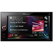 """Pioneer MVH-AV290BT - Pantalla Multimedia Doble (entrada auxiliar, pantalla táctil WVGA de 6.2"""" Clear Type) color negro"""