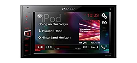 Pioneer MVH-AV290BT 15,8 cm (6,2 Zoll) Touchscreen Multimedia Receiver mit Bluetooth, USB, AUX-in und Video-Ausgang