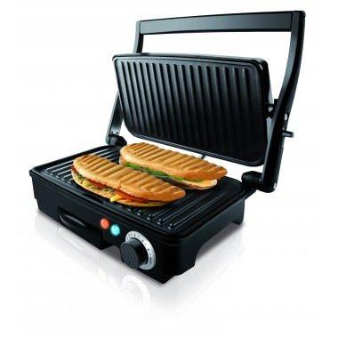 Taurus 968407000   Multi grill con tapa basculante (1500 W  termostato ajustable)