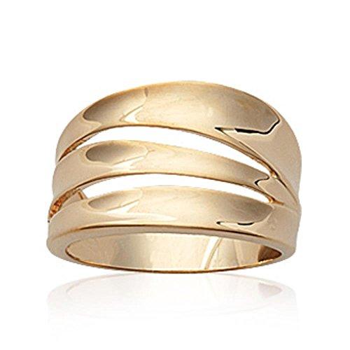 ISADY - Adinth Gold - Damen Ring - 18 Karat (750) Gelbgold - T 56 (17.8)