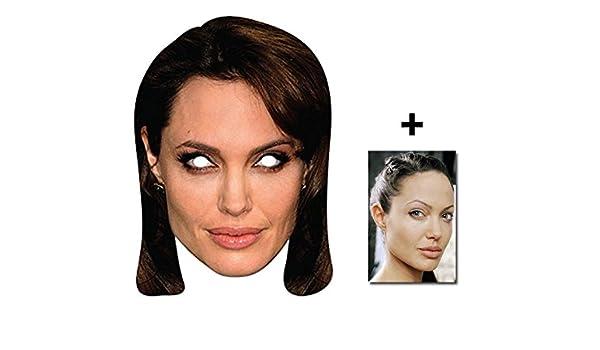 Angelina Jolie berühmtheit Single Karte Partei Gesichtsmasken (Maske ...