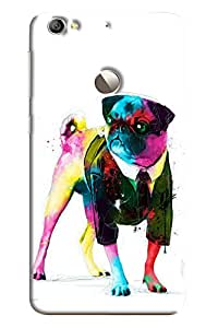 Omnam Colorful Dog Printed Back Cover Case For LeTv Le 1s
