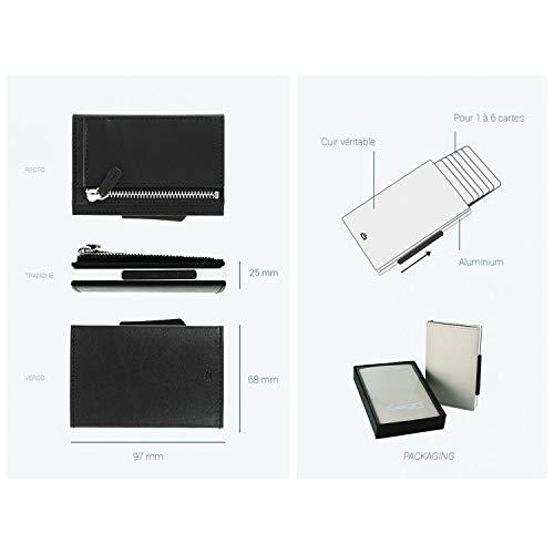 540aba5809 Zoom IMG-3 gon cascade zipper wallet case. Porta carte Ögon Cascade Zipper  Wallet in alluminio ...