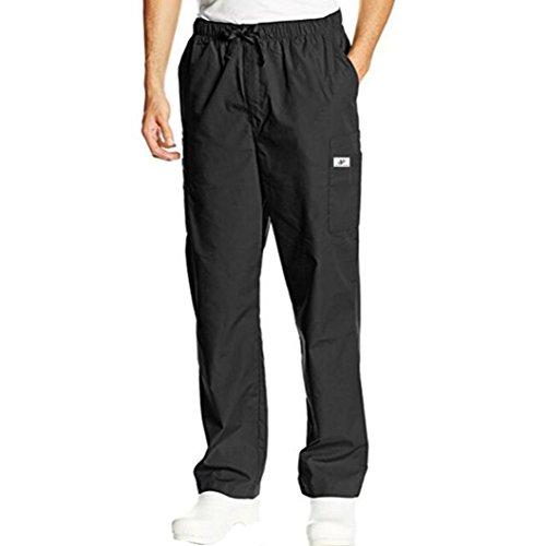 Dragon868 pantalone uomo, pantalone con tasca pantalone elasticizzato pantaloni cargo estate taglie forti