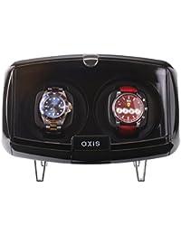 Axis® Double Enrouleur automatique de montre 2axw094b Noir pour 2016
