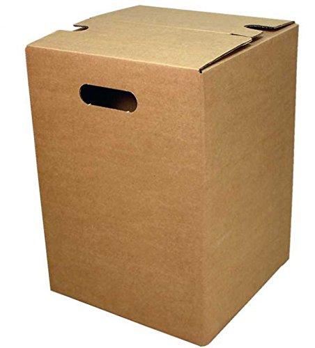 Faltkarton Papphocker braun Außenmaß: 300 x 300 x 420 mm 20 Stück Frei Haus