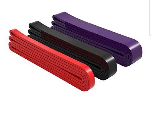 Set 3 Elastici Fitness   Loop Bands   Palestra, Calisthenics, Powerlifting, Crossfit   Lattice Naturale   Pullup Bands   Elastici trazioni  