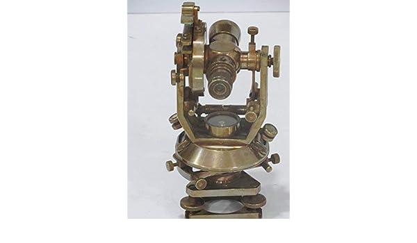 Entfernungsmessung Mit Theodolit : Nautisches antik messing theodolit cm amazon kamera