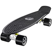 "Mini Cruiser Skate 55cm 22"" Skateboard Monopatin Ridge Skateboards Complet"