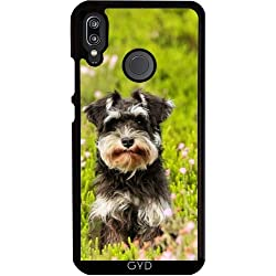 DesignedByIndependentArtists Hülle für Huawei P20 Lite - Hund Haustier Tierfreund by WonderfulDreamPicture