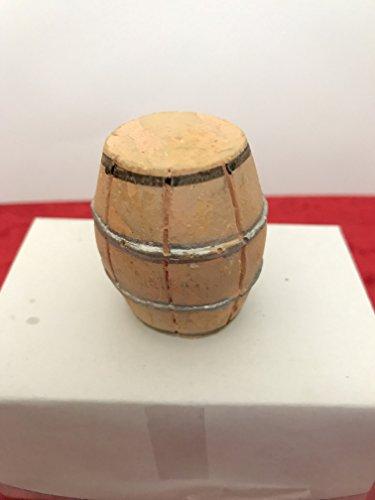 Krippen Zubehör, Holzfaß, D/3 cm, Höhe 4 cm