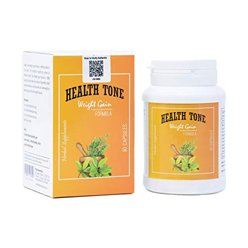 beautyplus1 Natural Health Tone Herbal weight Gain 90 Capsules (visible Result In 7 Days 100%)
