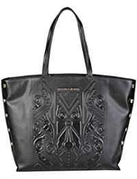 VERSACE JEANS Bolso shopping mujer color negro E1VPBBF6_75605