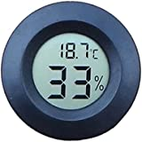 Bluelans 1x Mini Digital LCD Température Intérieure humidité Mètre Thermomètre hygromètre (Randon Couleur)