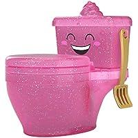 Pooparoos, mascotas de juguete sorpresa con inodoros  (Mattel FWN06)