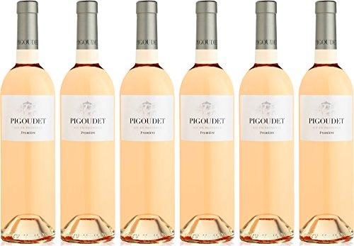 Pigoudet Premiere AOP Coteaux d'Aix en Provence Rosé 2016/2017 Trocken (6 x 0.75 l)